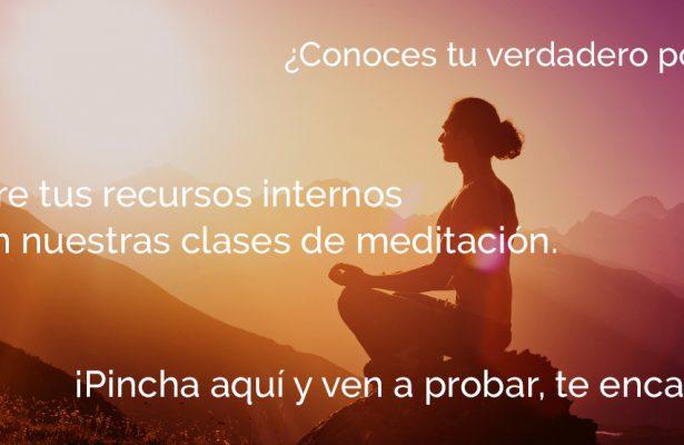 Curso de meditación sierra de Madrid