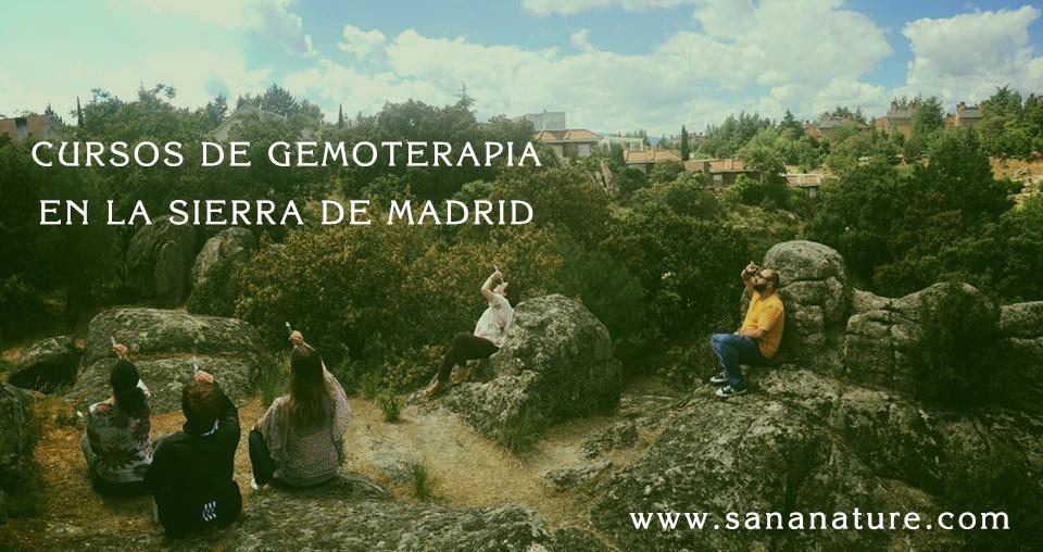 Curso de Gemoterapia Sierra de Madrid
