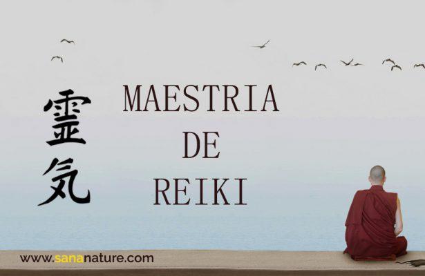 Maestría de Reiki en Madrid