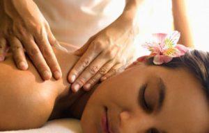 masaje descontracturante de espalda en la sierra de Madrid
