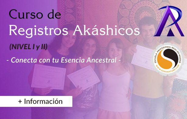 Curso de Registros Akáshicos en Madrid