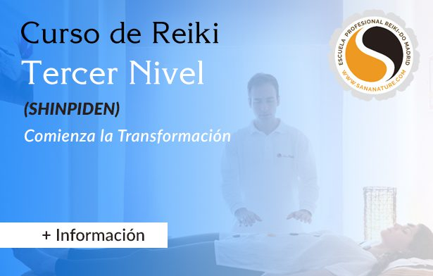 Reiki nivel 3 en Madrid