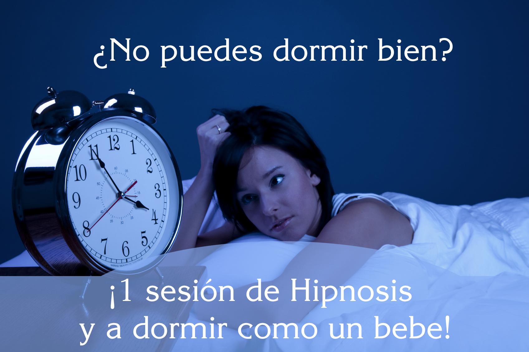 Hipnosis para tratar el Insomnio