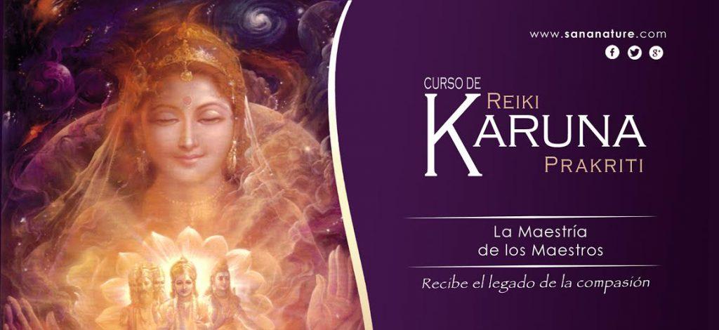 Curso de Reiki Karuna-Prakriti Madrid