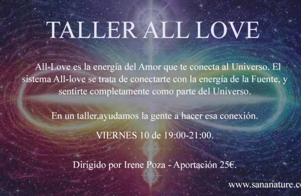 Taller All Love Madrid