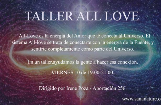 Taller All Love Madrid