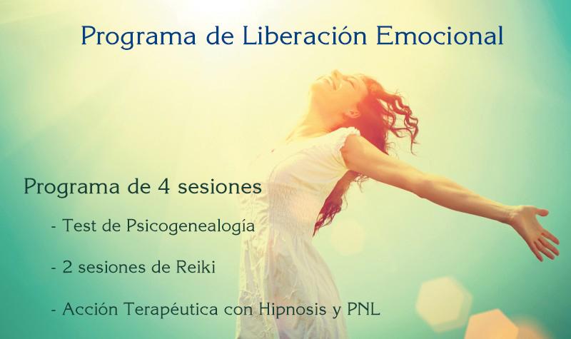 Psicoterapia o Liberación Emocional Regalo