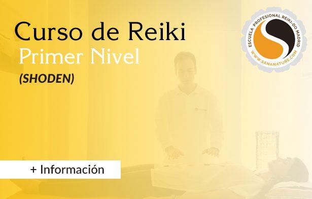 Primer Nivel de Reiki Madrid