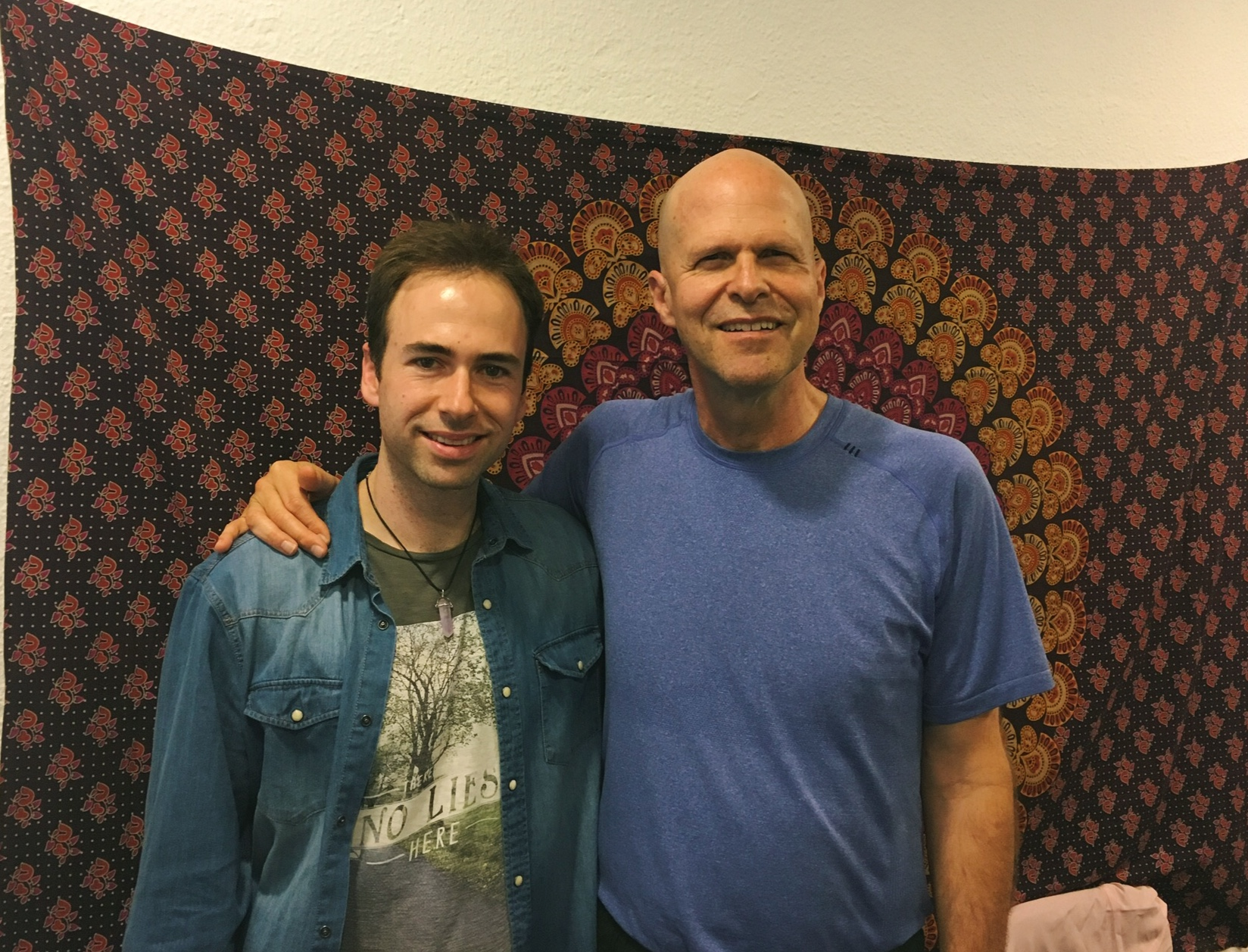 Patrick Zeigler y Pablo Moraga
