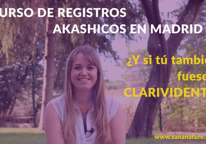 Curso Registros Akáshicos en Madrid