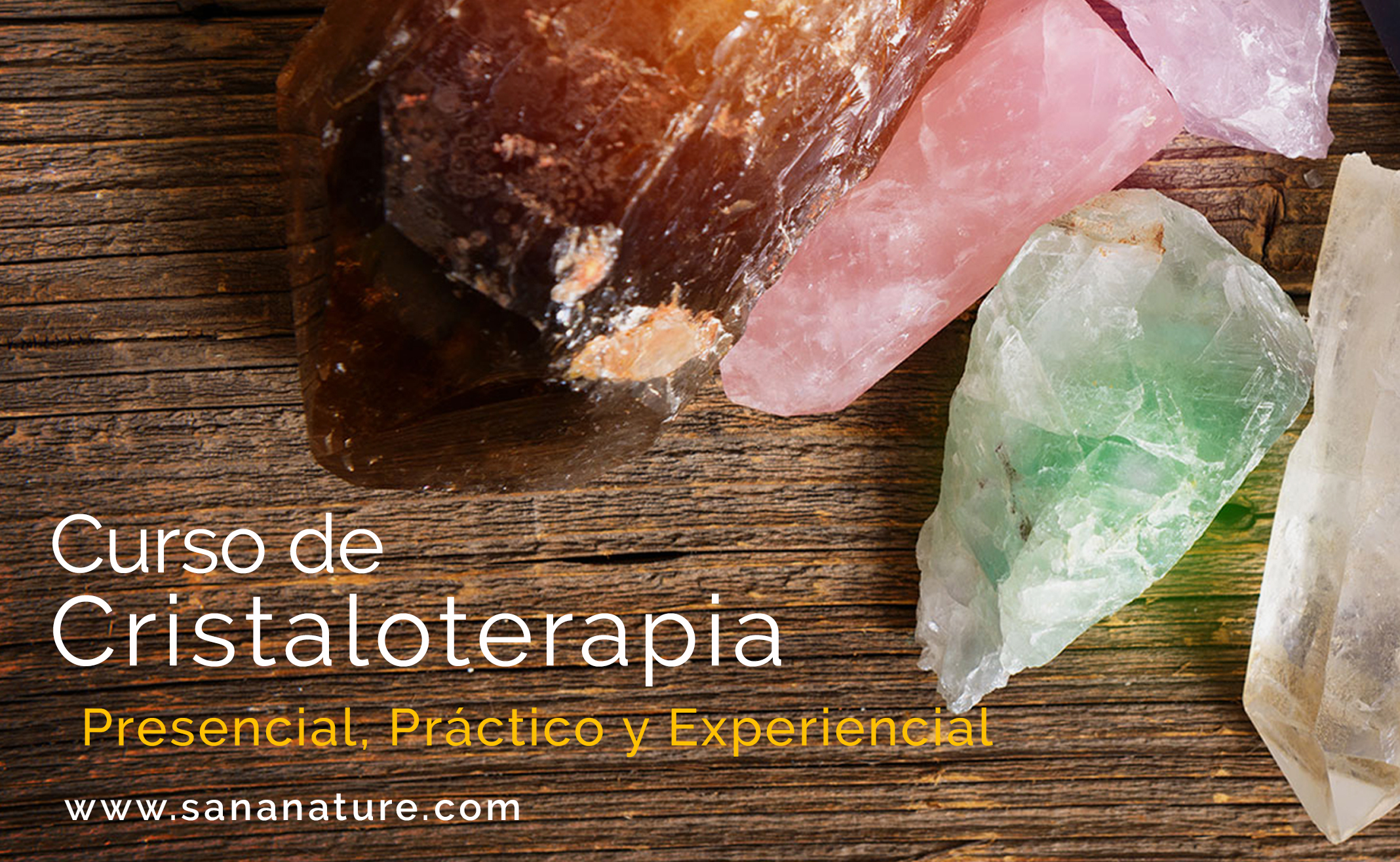 Curso de Gemoterapia en Madrid