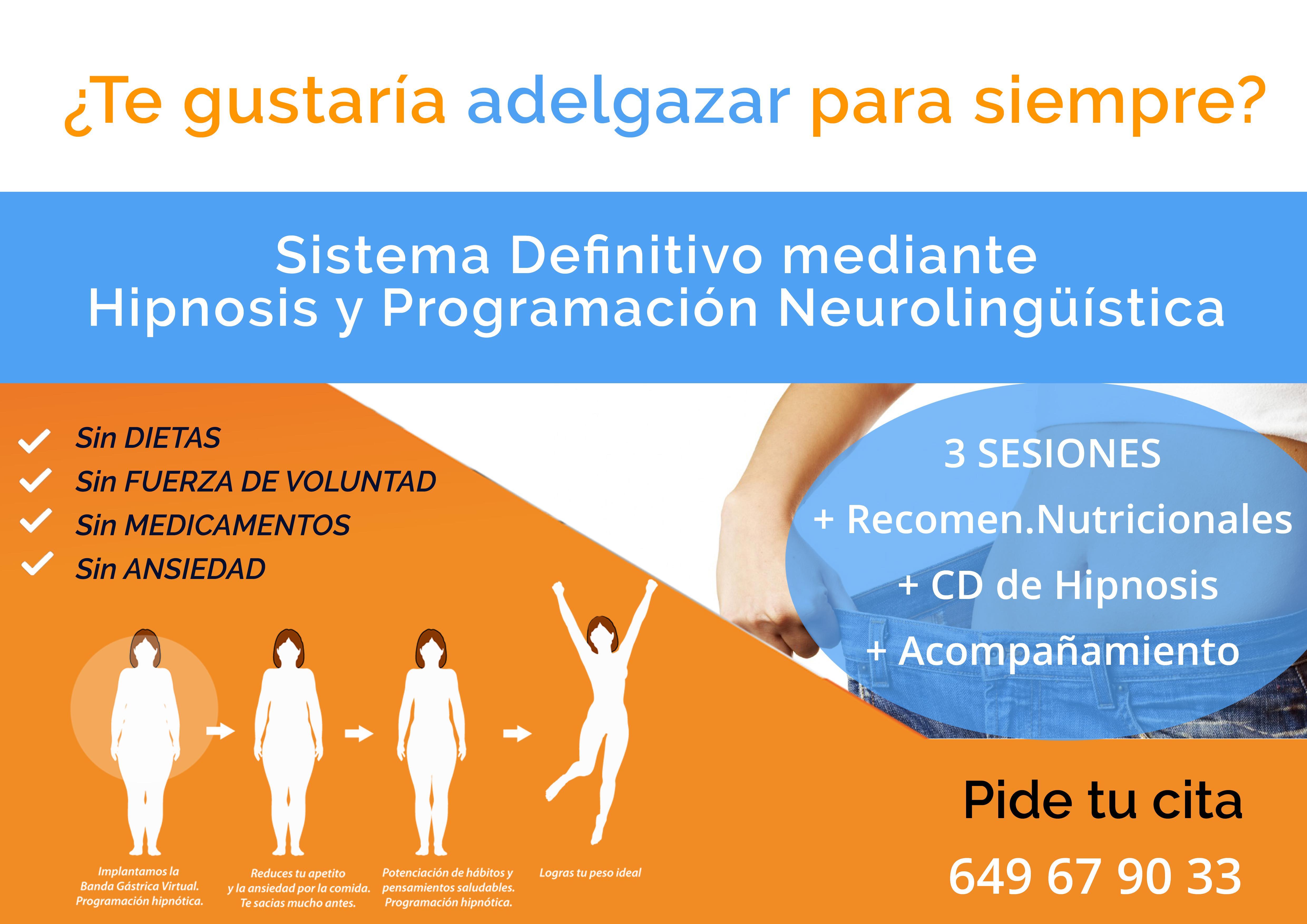 Adelgazar con Hipnosis en Madrid