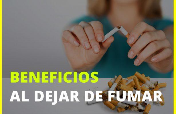 Beneficios al dejar de fumar