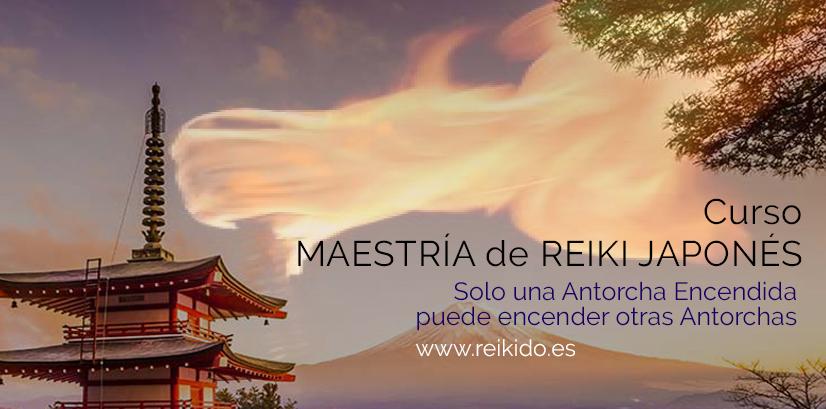 Maestría de Reiki Japonés en Madrid