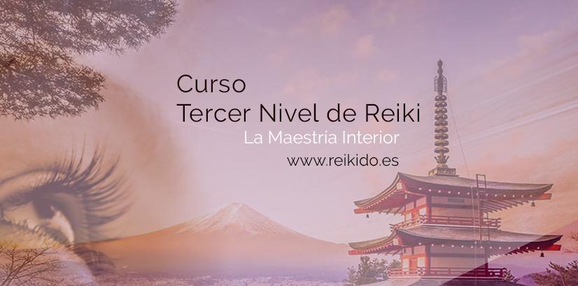 Tercer Nivel de Reiki Japonés