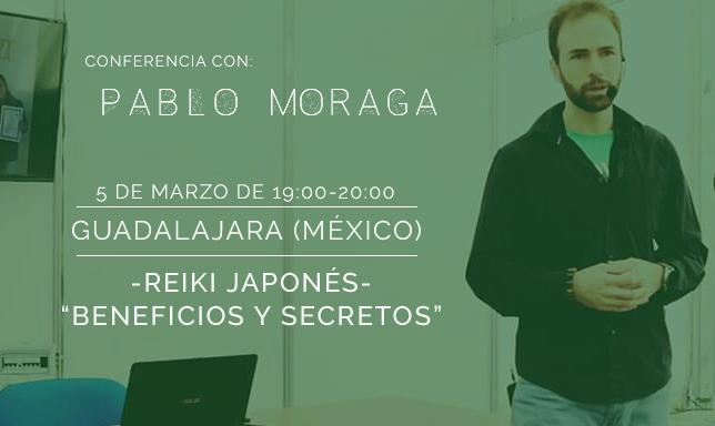 Conferencia Pablo Moraga Guadalajara
